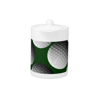 cool golf balls teapot