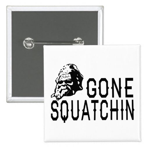 COOL Gone Squatchin Squatch n' Shades Pins