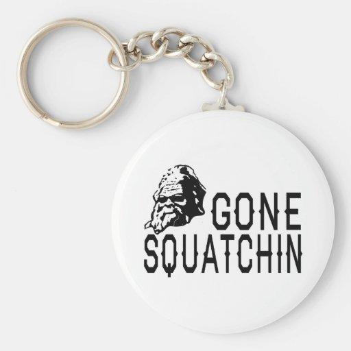 COOL Gone Squatchin Squatch n' Shades Keychain