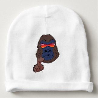 cool gorilla baby beanie