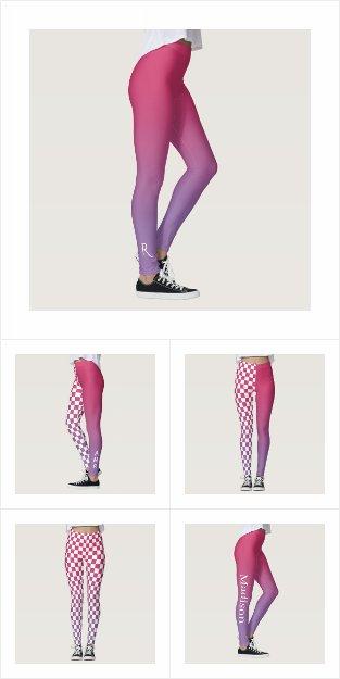 Cool Gradient Style Leggings