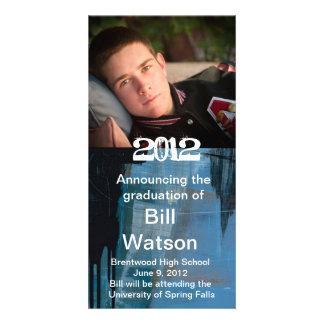 Cool Graduation Announcement