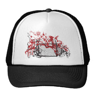 Cool Graffiti Fence ai Trucker Hat