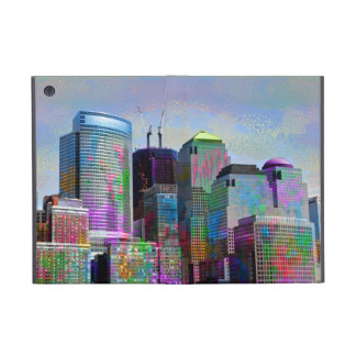 Cool graffiti splatters watercolours New York city Cover For iPad Mini