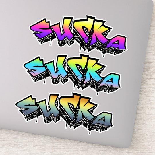 Cool Graffiti Sticker | Zazzle.com