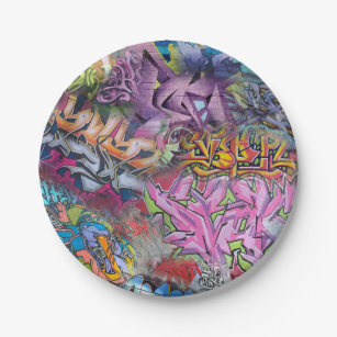 Abstract Plates Zazzle