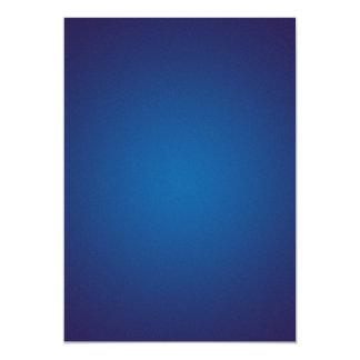 Cool Grainy Deep Blue Vignette 5x7 Paper Invitation Card