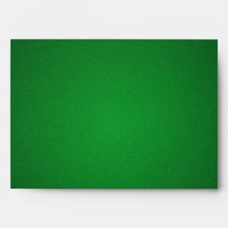 Cool Grainy Green-Black Vignette Envelope