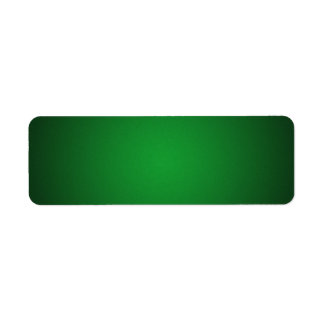 Cool Grainy Green-Black Vignette Label
