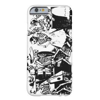 Cool Gran Fandago Retro Black White Skeleton Dance Barely There iPhone 6 Case