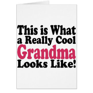 Cool Grandma Card