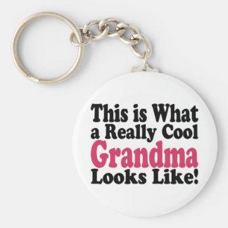 Cool Grandma Key Chain