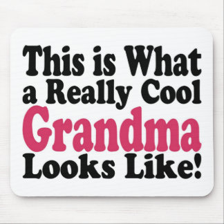 Cool Grandma Mouse Pad