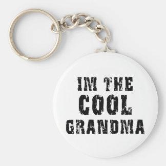 Cool Grandma T-Shirt Keychain