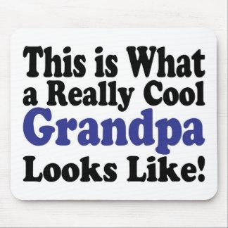 Cool Grandpa Mouse Pad