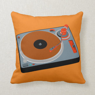 Cool Graphic Turntable No. 3 Pillow