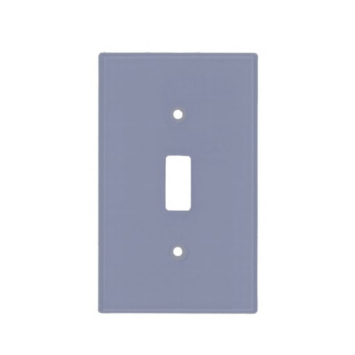 Cool Gray Light Light Switch Covers Zazzle