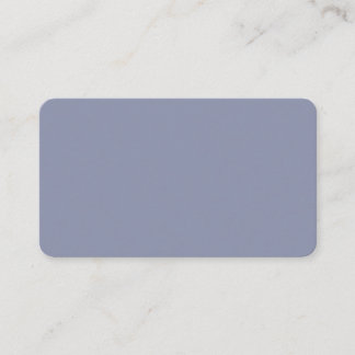 Cool Gray Rounded Business Card