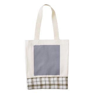 Cool Gray Star Dust Zazzle HEART Tote Bag