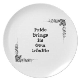 Cool great simple wisdom philosophy tao sentence dinner plate