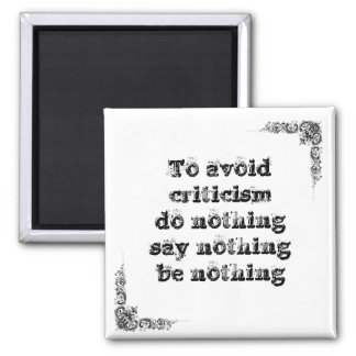 Cool great simple wisdom philosophy tao sentence magnet