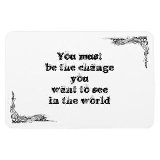 Cool great simple wisdom philosophy tao sentence magnet