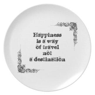 Cool great simple wisdom philosophy tao sentence melamine plate