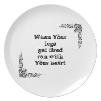 Cool great simple wisdom philosophy tao sentence melamine plate
