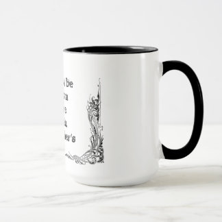 Cool great simple wisdom philosophy tao sentence mug