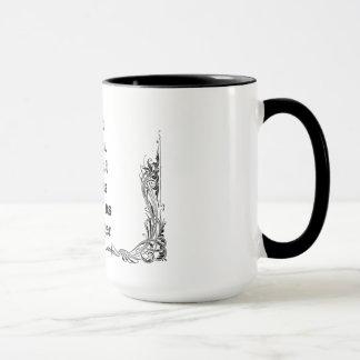 Cool great simple wisdom philosophy tao sentence mug