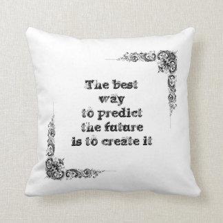 Cool great simple wisdom philosophy tao sentence throw pillow