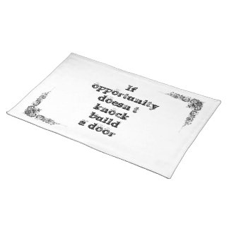 Cool great simple wisdom philosophy tao sentence placemat