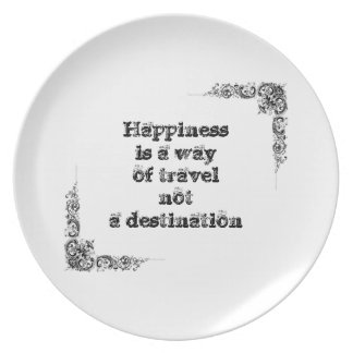 Cool great simple wisdom philosophy tao sentence party plate