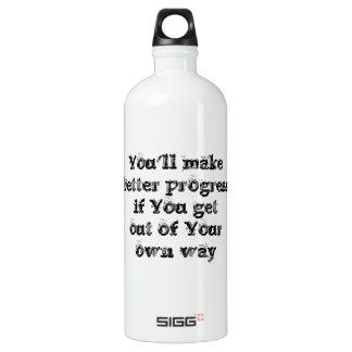 Cool great simple wisdom philosophy tao sentence SIGG traveler 1.0L water bottle