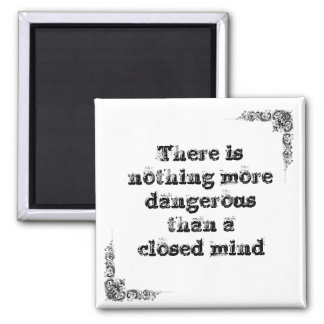 Cool great simple wisdom philosophy tao sentence t 2 inch square magnet
