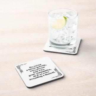 Cool great simple wisdom philosophy tao sentence t beverage coaster