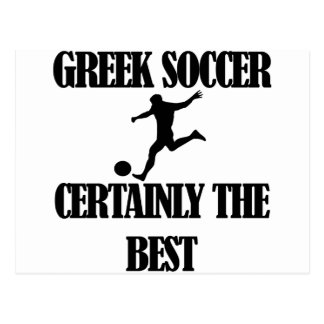 cool Greek  soccer designs Postcard
