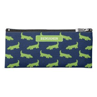 Cool Green Alligators Pencil Case