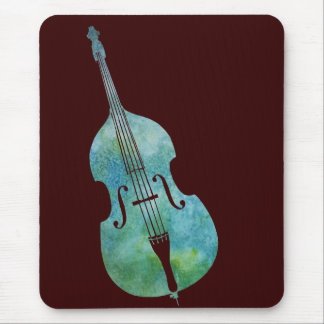 Cool Green Bass Mouse Pad