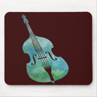 Cool Green Bass Mouse Pads