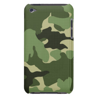 Cool Green Camo Military Camouflage Pattern Slim iPod Touch Cover