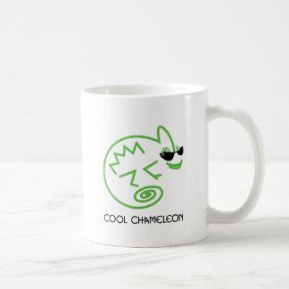 Cool Green Chameleon Coffee Mug