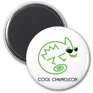 Cool Green Chameleon Magnet