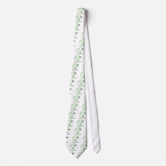 Cool Green Chameleon Neck Tie