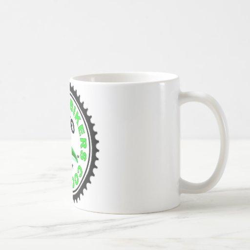 Cool Green Chili Bikers Classic White Coffee Mug