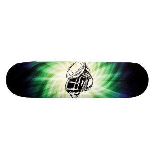 Cool Green Football Player Skateboards