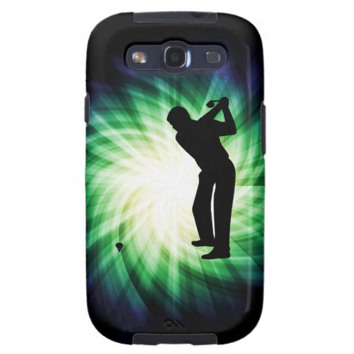 Cooling Case For Samsung Galaxy S3 : Cool green golf samsung galaxy s case zazzle