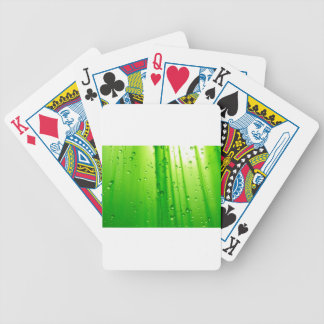Cool Green Grass Bicycle Playing Cards