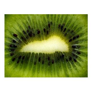 Cool Green Kiwi Fruit Postcard