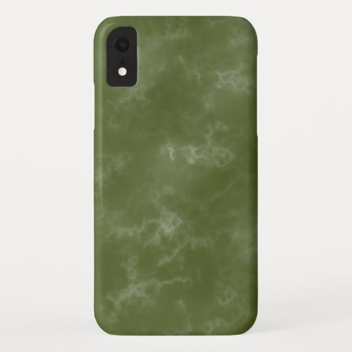 Cool Green Marbled IPhone XR Case
